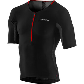 ORCA 226 Perform Tri Top mit Ärmeln Herren black orange